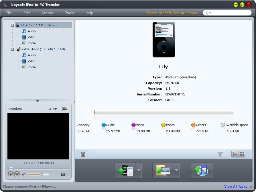 iJoysoft iPod to PC Transfer Download