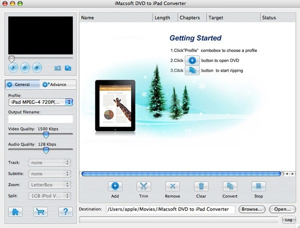 iMacsoft DVD to iPad Converter for Mac Download