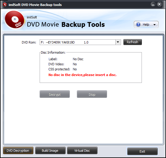 imlSoft DVD Movie Backup tools Download