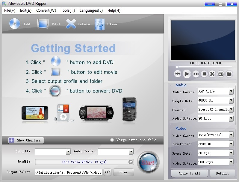 iMoviesoft DVD Ripper Download