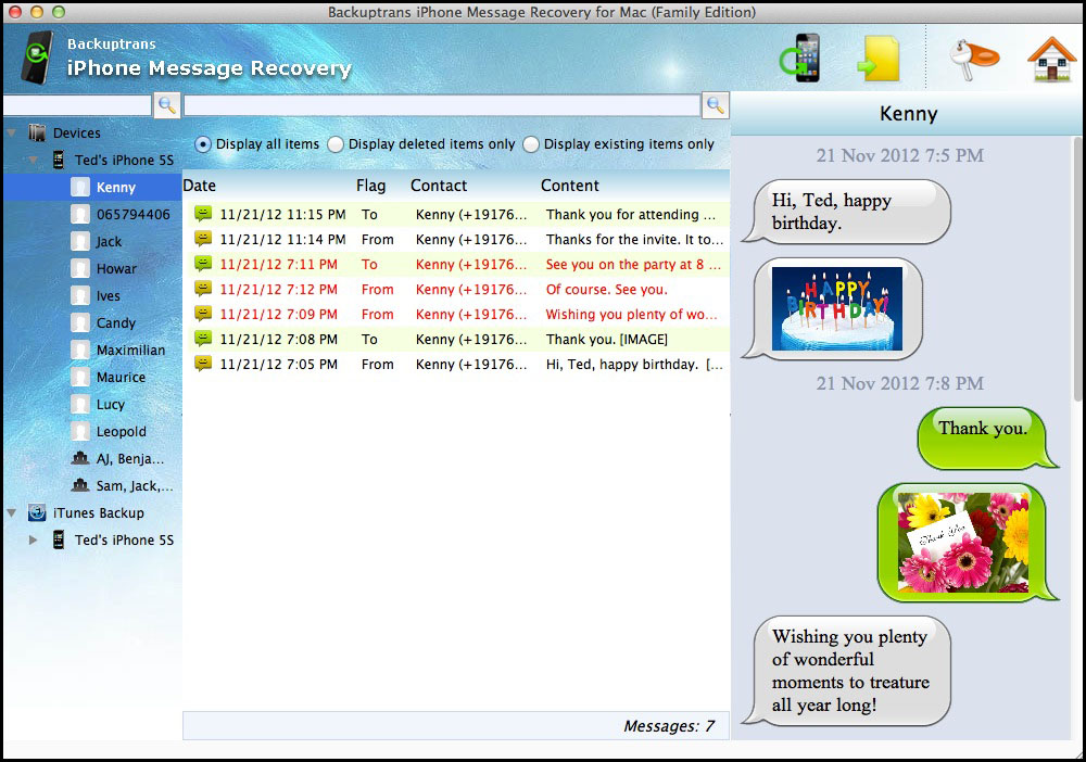 iPhone Message Recovery for Mac Download