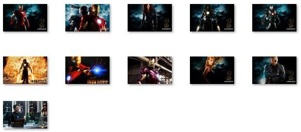 Iron Man 2 Windows 7 Theme Download