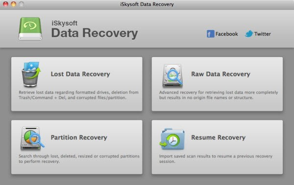 iSkysoft Data Recovery for Mac Download
