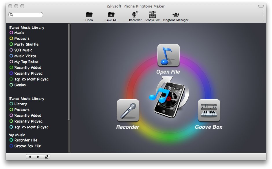 iSkysoft iPhone Ringtone Maker for Mac Download