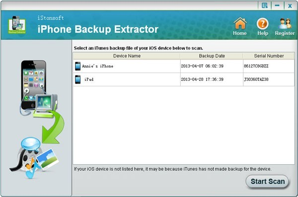 iStonsoft iPhone Backup Extractor Download
