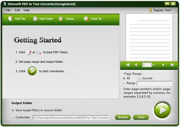 iStonsoft PDF to Text Converter Download