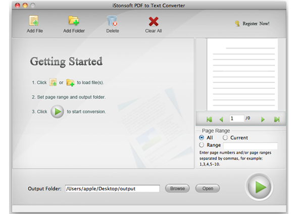 iStonsoft PDF to Text Converter for Mac Download