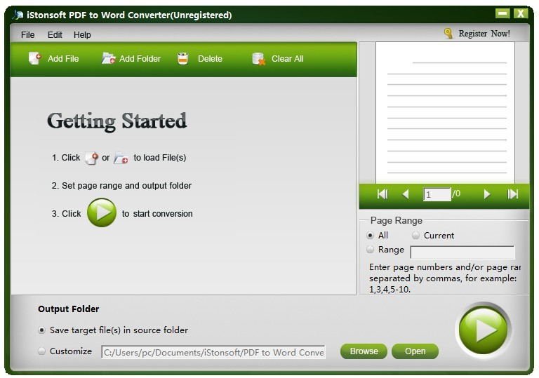 iStonsoft PDF to Word Converter Download
