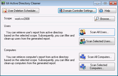 JiJi Active Directory Cleaner Download