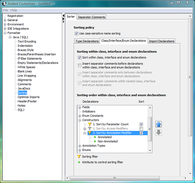 Jindent Code Formatter for Java/C/C++ - Free download and ...