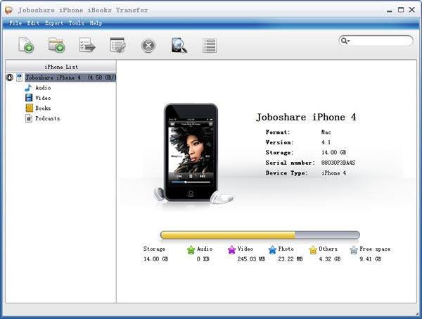 Joboshare iPhone iBooks Transfer Download
