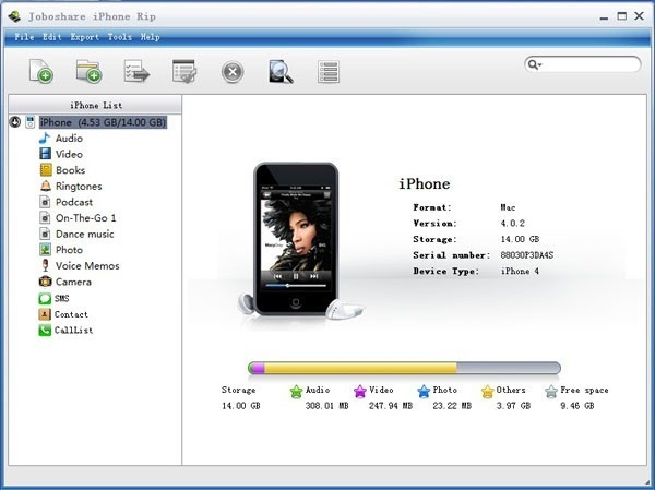 Joboshare iPhone Rip Download