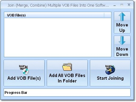 Join (Merge, Combine) Multiple VOB Files Into One Software Download