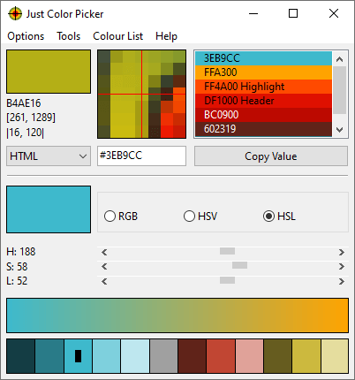 Just Color Picker Download