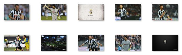 Juventus FC Windows 7 Theme with song Download