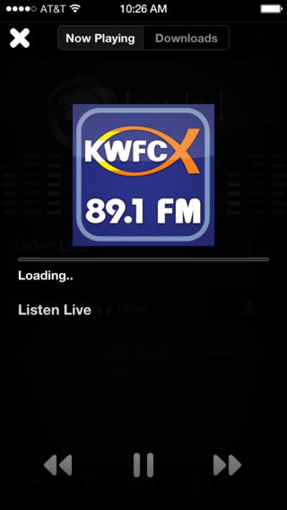 KWFC 89.1-FM Download