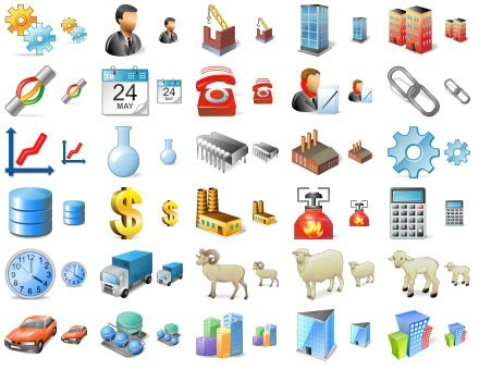Large Factory Icons Download