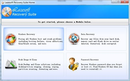 Lazesoft Recovery Suite Home Download