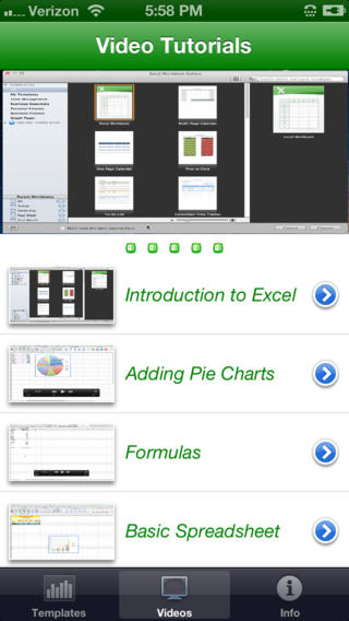 Learn Excel - training videos plus Templates for Excel Download