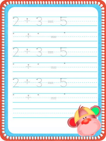 Learning how to write words, numbers, sentences, math Download