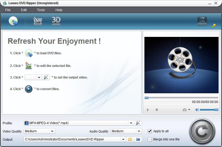 Leawo DVD to Media Player Converter Download