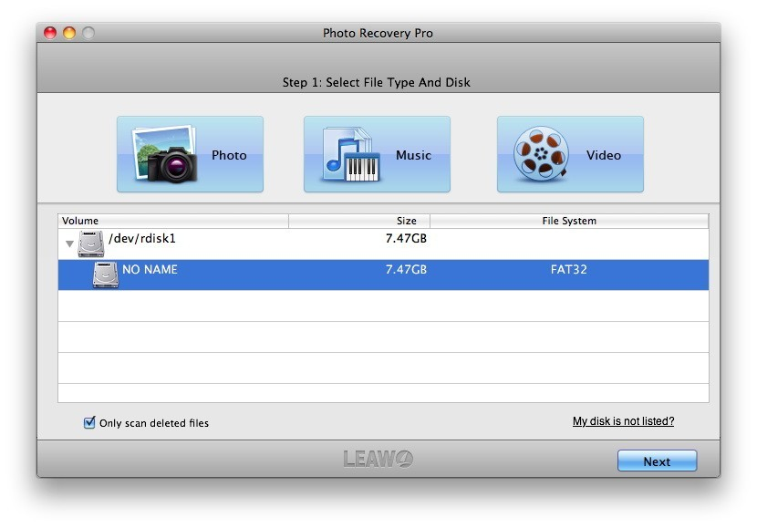 Leawo Photo Recovery for Mac Download