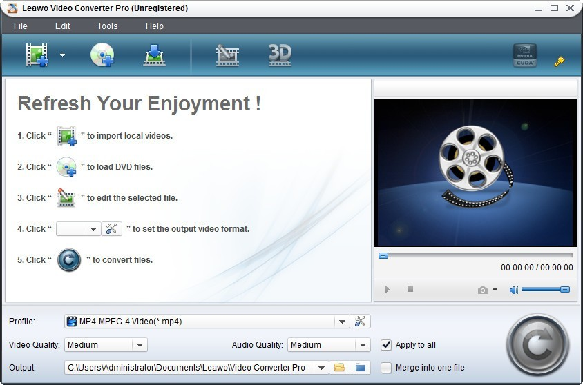 Leawo Video Converter Pro Download