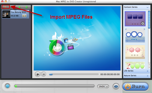 MPEG to DVD Creator for Mac Download