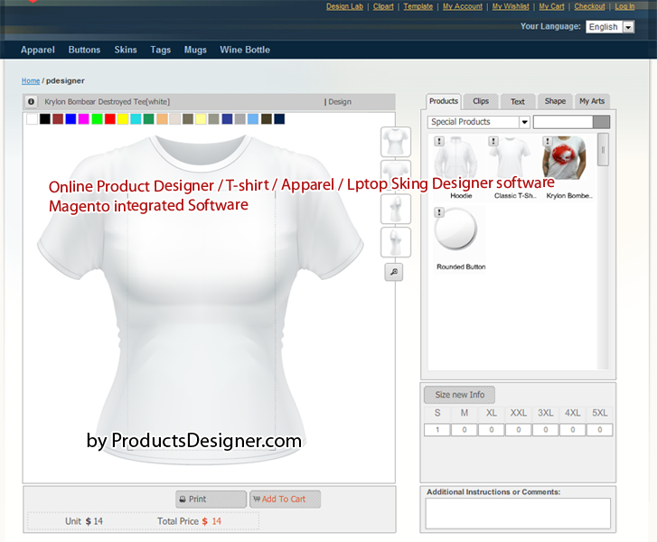 T shirts design software free downloads joy studio for Online software design tool