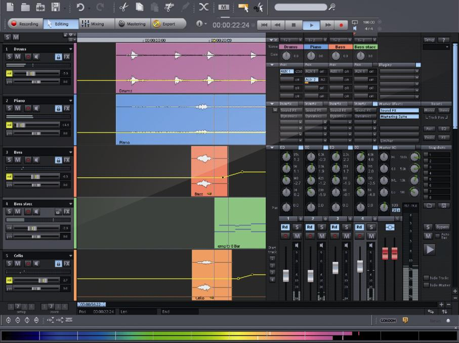 MAGIX Samplitude 11.5 Producer