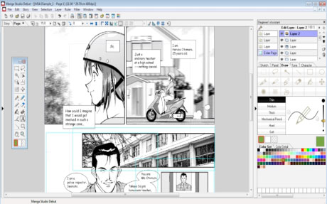 Manga Studio Debut Windows Download