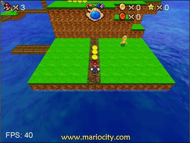 Screenshot, Review, Downloads of Freeware Mario Sunshine