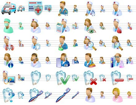 Medical Icons for Vista Download