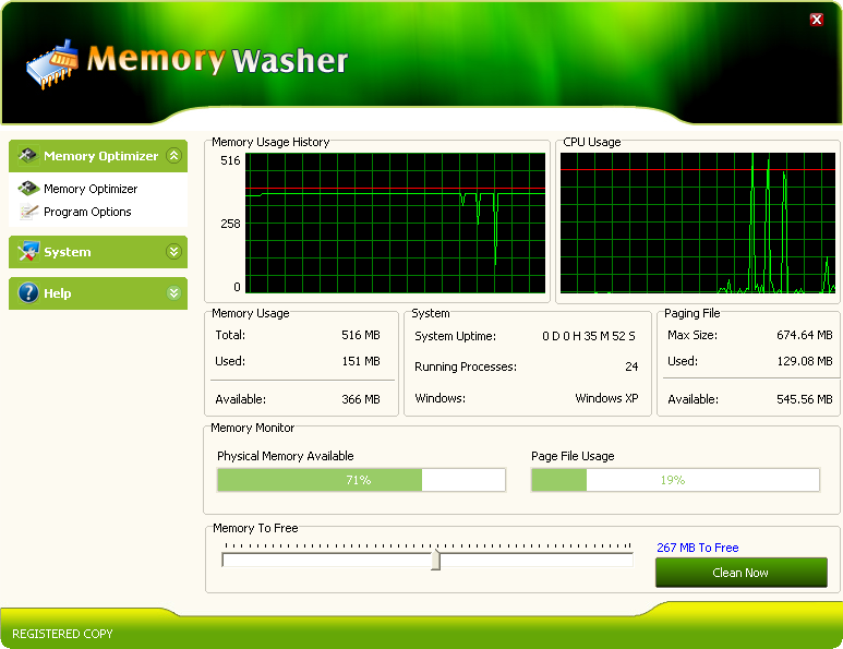 Memory Washer Download