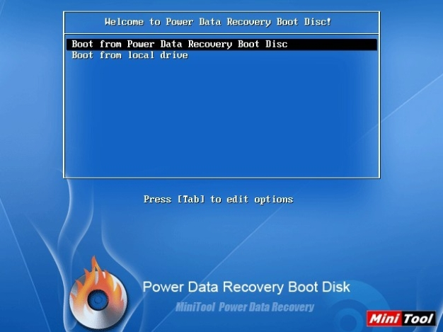 MiniTool Power Data Recovery Boot Disk Download