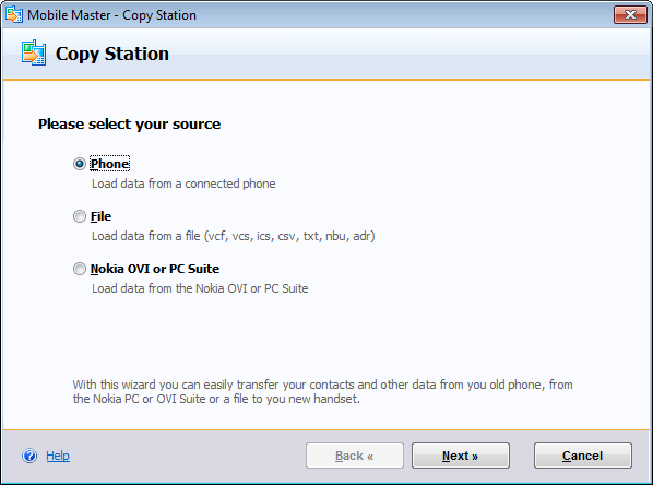 Mobile Master Copy Station Download