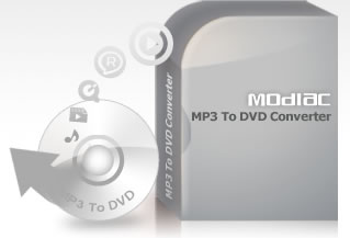 Modiac MP3 to DVD Converter Download