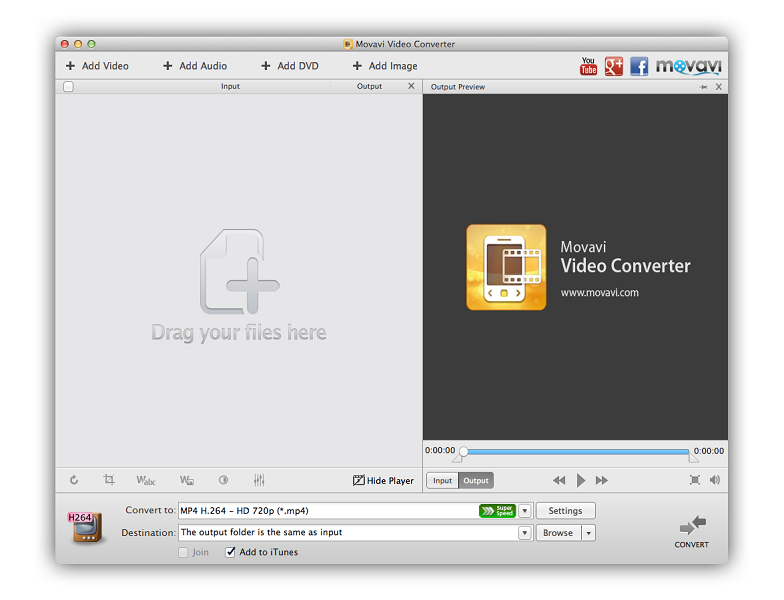 Movavi Video Converter for Mac Download
