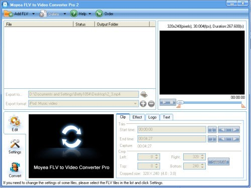 Moyea FLV to Video Converter Pro 2 Download