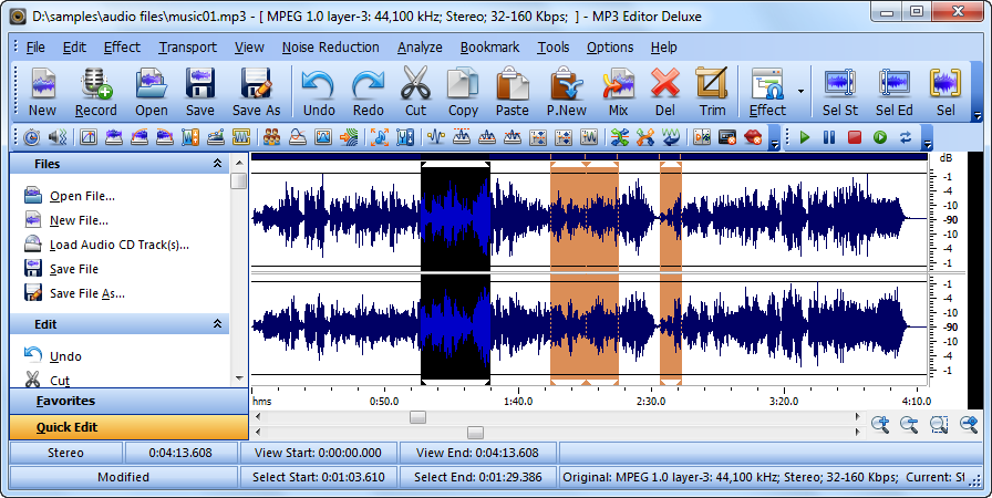 Mp3 Editor Deluxe Download