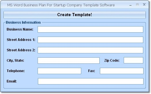 microsoft office business plan template VcrJ7Sff
