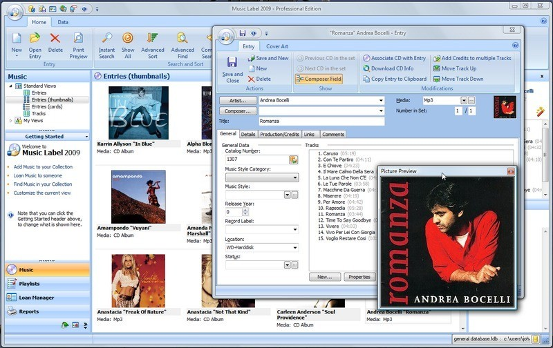 Music Label 2009 Download