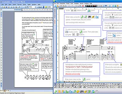 Music Notation For MS Word Download