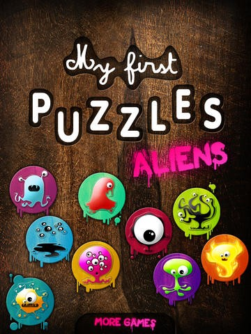 My first puzzles : Aliens HD Download