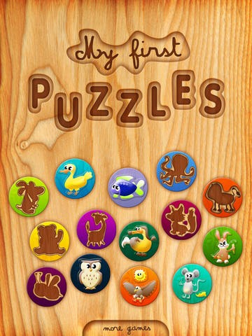 My first puzzles HD Download