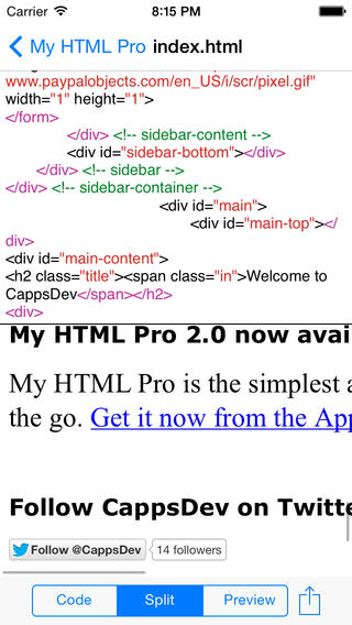 My HTML Pro Download