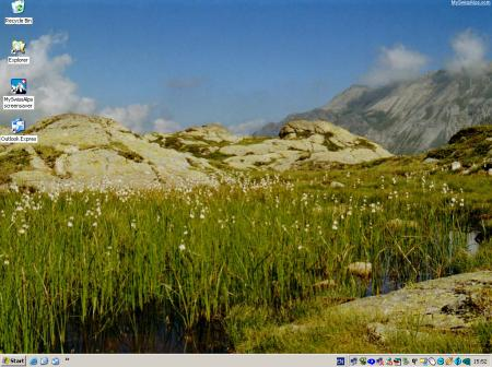 desktop wallpapers xp. MySwissAlps Active Desktop