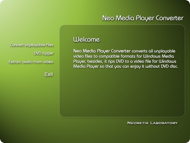 Neo Media Player Converter Download