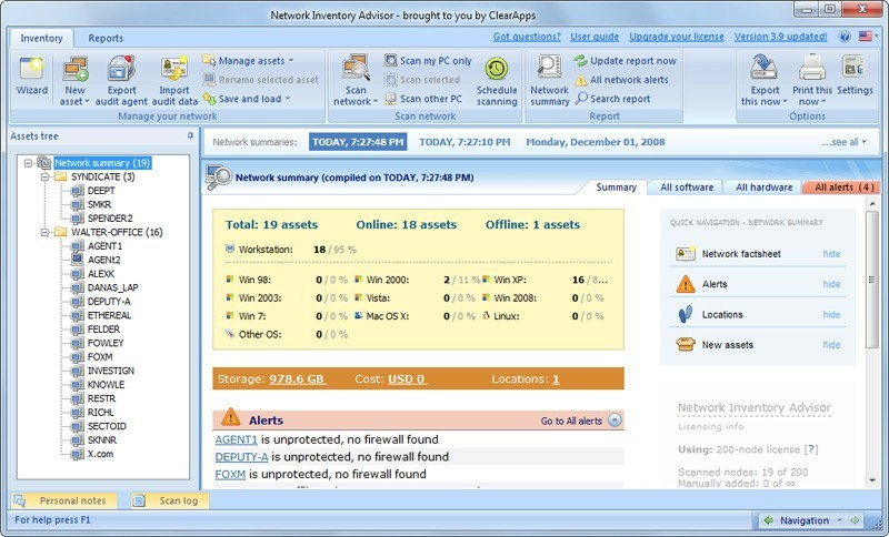 Network Inventory Software Download