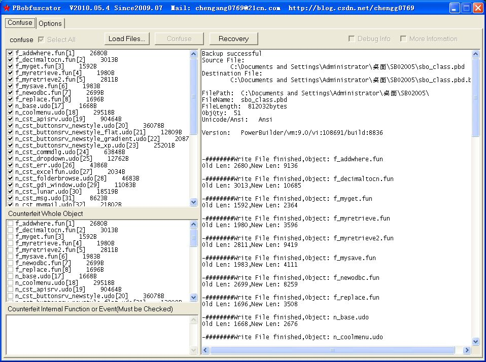Obfuscator for Powerbuilder Download